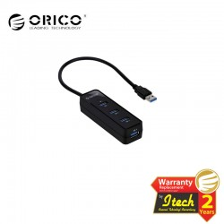 ORICO W5PH4 4 ports USB 3.0 Hub Black