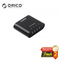 ORICO DCH-4U WH 4 port multi USB charging station 5V1A 5V2A