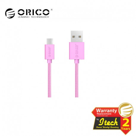 ORICO MDC-10 Strong Nylon Colorful Micro USB Data Fast Charging Cable 1 Meter