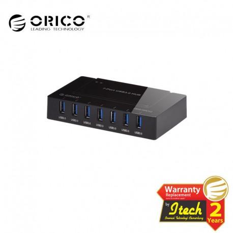 ORICO H9978-U3 7 - Ports USB 3.0 Hub with 12V 3A Power Adapter