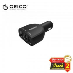 ORICO UCA-4U 4-port(5V2.4A * 2 and 5V1A * 2) Universal USB Car Charger
