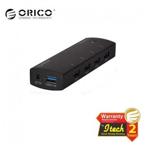 ORICO AS4P-U3 BK 4 port USB3.0 super speed HUB