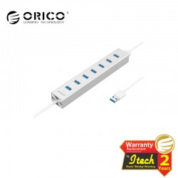 ORICO H7013-U3-SV Alumium 4 Ports USB3.0 HUB