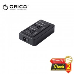 ORICO OPC-2A4U-UN ( 2 Outlet Surge Protector with Universal Power Strip Socket and 4 USB Charger Ports )