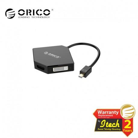 ORICO DMP-HDV3S Mini DisplayPort to HDMI / DVI / VGA Adapter