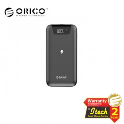 ORICO FIREFLY-WR10 10000mAh Wireless Charging Smart Power Bank with Display Screen