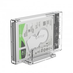 ORICO HDD Enclosure 2.5inch Transparent USB3.0 with Stand - 2159U3