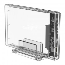 ORICO USB-C 3.1 Gen 2 HDD Enclosure 2.5in Transparent 10Gbps 2159C3-G2