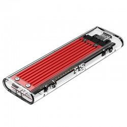 ORICO M2 NVMe M.2 SSD Enclosure (10Gbps) - TCM2-C3 - Silver