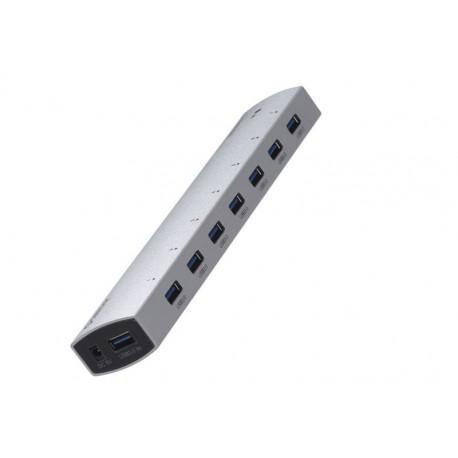 ORICO AS7P-U3-SV 7 port USB3.0 super speed hub