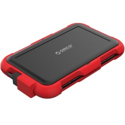 ORICO 2799U3 red silica gel 2.5Inch Triple-Protection HDD Enclosure