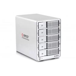 ORICO 9558SUSJ3 5bay 3.5'' SATA HDD External Enclosure  (Discontinue)