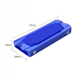 ORICO M2SRB M.2 Heat Sink,all-aluminum design,double -side thermal pad