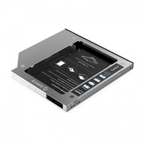 Orico M95SS Laptop Hard Drive Caddy for Optical Drive