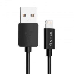 USB2.0 A/M to Lightning Apple Charge & Sync Cable 1 Meter
