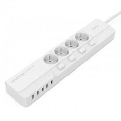 ORICO OSJ-4A5U-EU 4 AC Outlet 5 USB Port Surge Protector