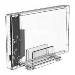 ORICO 2159C3-G2 2.5 inch Transparent 10Gbps Hard Drive Enclosure with Stand