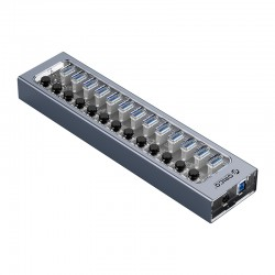 ORICO AT2U3-13AB Multi-Port Hub With Individual Switches