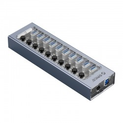 ORICO AT2U3-10AB Multi-Port Hub With Individual Switches