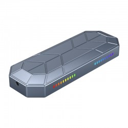 ORICO M2VG01-C3 RGB M.2 NVMe SSD Enclosure