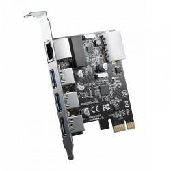 ORICO PNU-3A1R USB3.0 Network Combination Card