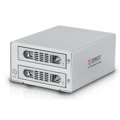 "ORICO 3529SUS3-C 2 bay 3.5"" SATA HDD external enclosure"